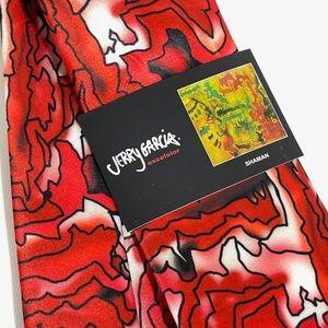 Jerry Garcia Artwork Shaman Necktie